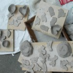 We use air dry clay, so the kids can take home there work that day, and they will dry very hard and last for years!!