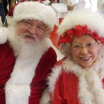 "Santa and Mrs. Claus say ""Hi""!"